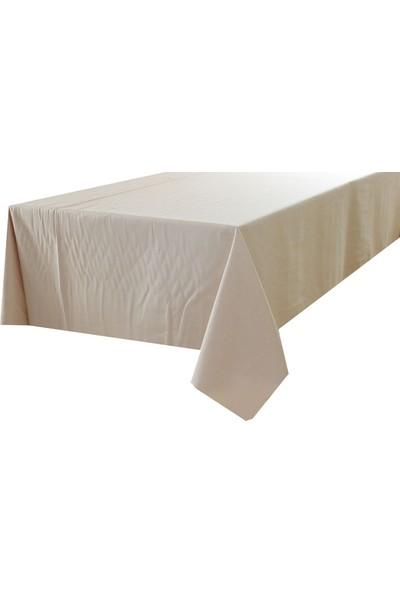 Derinteks Duck Açık Bej Dertsiz Masa Örtüsü 150 x 280 cm