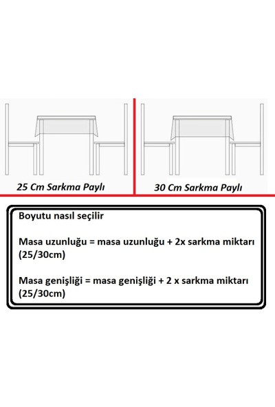 Derinteks Kırmızı Beyaz Zigzag Dertsiz Masa Örtüsü 100 x 100 cm