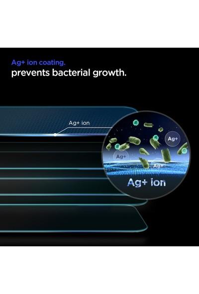 Spigen Apple iPhone 11 / iPhone XR Antibakteriyel Cam Ekran Koruyucu Ag+ GLAS.tR Slim HD - AGL01347