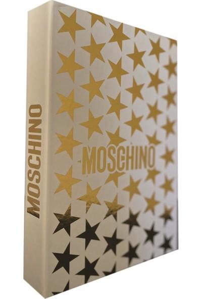 Lyn Home Moschino Yıldız Varaklı Dekoratif / Kitap Kutu