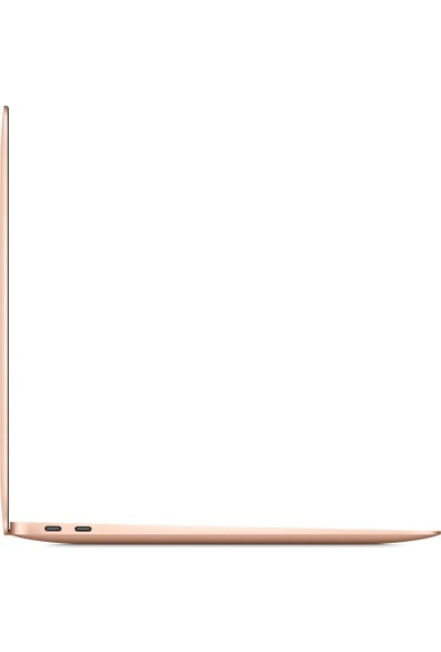 "Apple Macbook Air M1 Çip 8GB 256GB macOS 13"" QHD Taşınabilir Bilgisayar Altın MGND3TU/A"