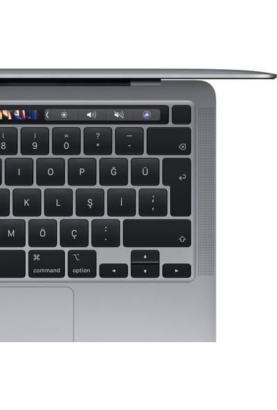 "Apple Macbook Pro M1 Çip 8GB 256GB macOS 13"" QHD Taşınabilir Bilgisayar Uzay Grisi MYD82TU/A"