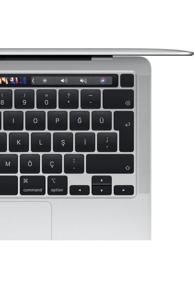 """Apple Macbook Pro M1 Çip 8GB 512GB macOS 13"""" QHD Taşınabilir Bilgisayar Gümüş MYDC2TU/A"""