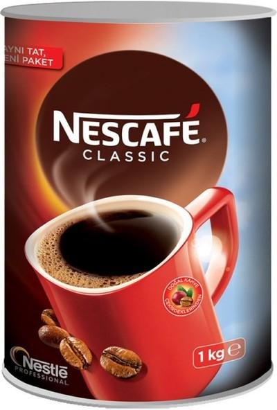 Nescafe Classic 1000 gr Kahve Teneke Kutu
