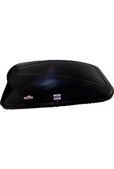 Tuning Port Combi Büyük Tavan Bagajı Tabut Tip Siyah 420 lt