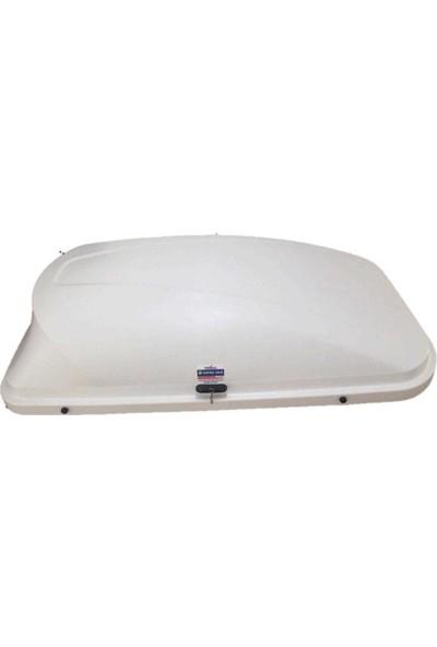 Tuning Port Combi Büyük Tavan Bagajı Tabut Tip Beyaz 420 lt