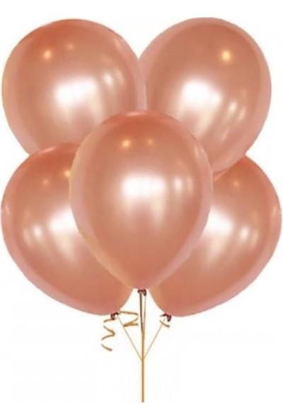 Kullanatparty Rose Gold Renk Metalik Balon 8 Adet