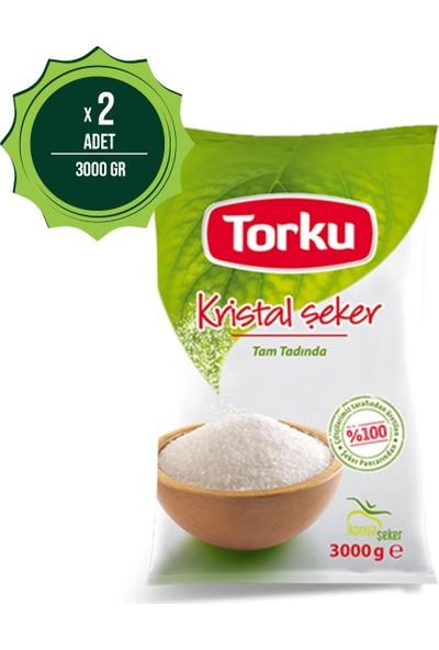 Torku Toz Şeker 3 kg x 2