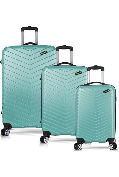 Tiger Hiking Cool Abs 3lü Valiz, Bavul Seti (Kabin+Orta+Büyük Boy)