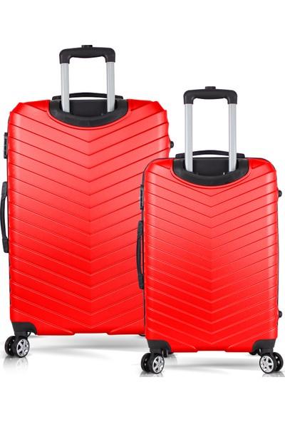 Tiger Hiking Cool Abs 2li Valiz, Bavul Seti (Büyük+Orta Boy)