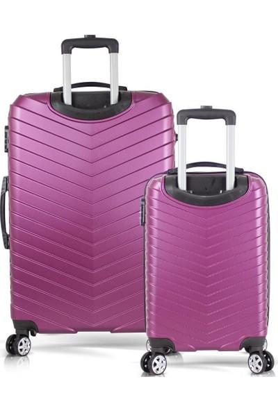 Tiger Hiking Cool Abs 2li Valiz, Bavul Seti (Büyük+Kabin Boy)