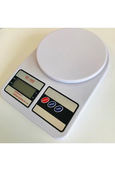 Ektronik Hassas Dijital Mutfak Terazisi 10 kg