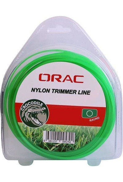 Orac 3,30 mm 46 Mt.yuvarlak Yeşil Tırpan Misinası