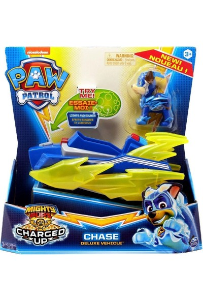 Paw Patrol Chase Deluxe Vehicle