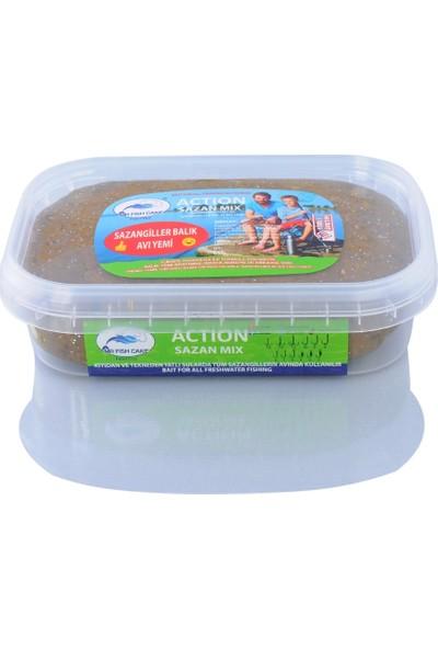 Mr Fish Cake Balik Avi Yemleri Action Sazanmix Tatlı Su Balık Avı Yemi