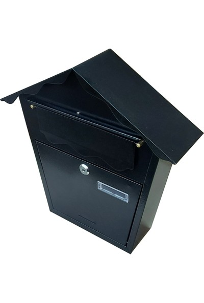 Saypos Villa Tipi Metal Posta Kutusu Ekstra Büyük Boy 35,5 x 35,5 x 10CM