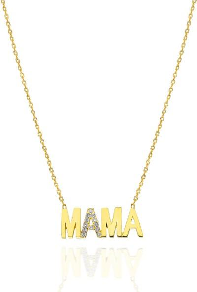 Brs Silver 925 Ayar Mama Motifi Kolye