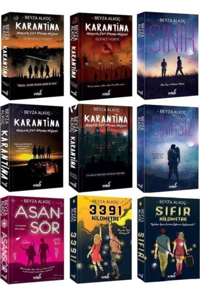 Beyza Alkoç Serisi Seti 9 Kitap Set Ciltsiz