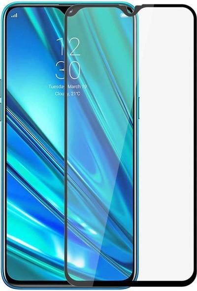 Huawei P Smart Pro Mat Seramik Ekran Koruyucu Tam Kaplayan Jelatin Siyah