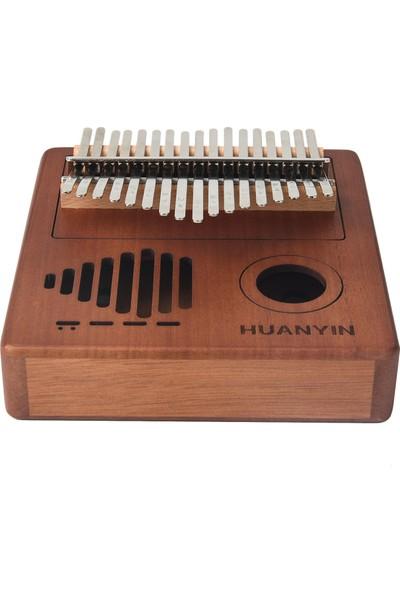 Huanyin HW17 Wide Edition 17 Tuşlu Kalimba + Türkçe Kılavuz HW17