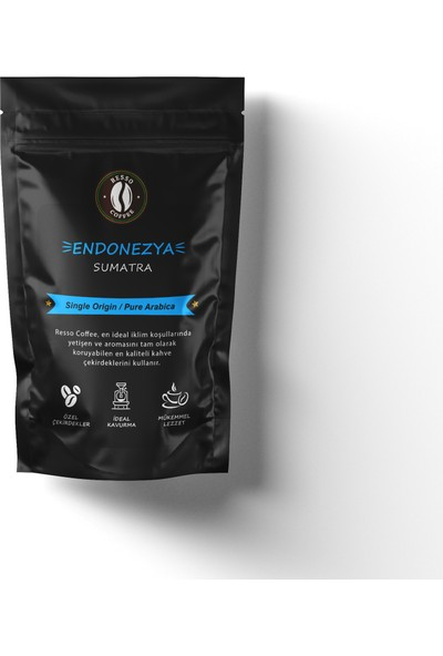 Resso Coffee Endonezya /sumatra (french Press) 250 gr