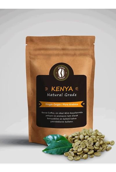 Resso Coffee KENYA /Nat.Grade %100 Arabica Premium Yeşil / Çiğ Kahve Çekirdeği 250 gr
