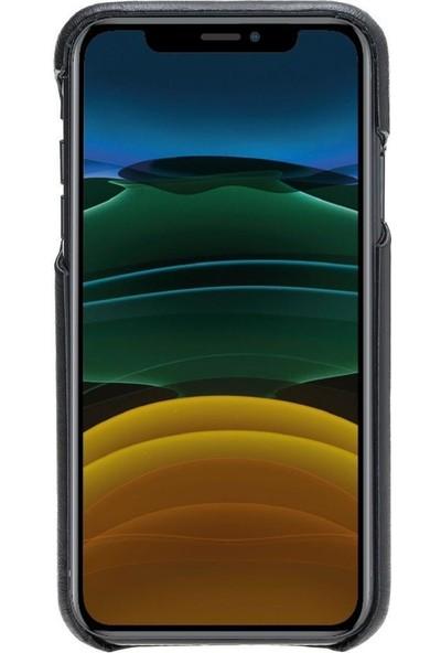 Bouletta F360 Deri Telefon Kılıfı iPhone 11 Rst1 Siyah