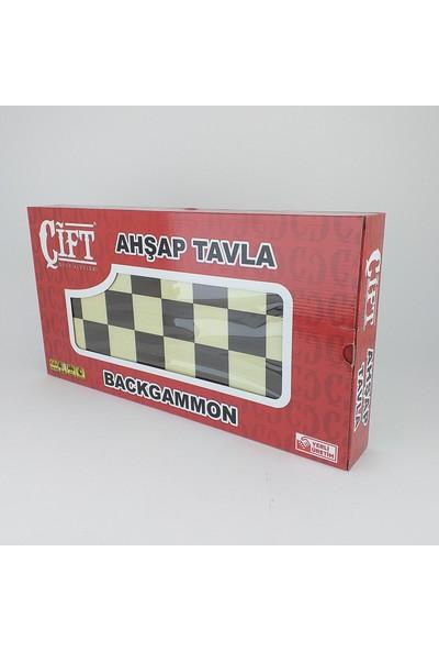 Çift Oyun Aletleri Tavla Klasik