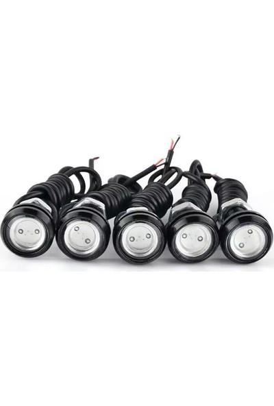 Powerlux Kartal Göz LED (Kırmızı)