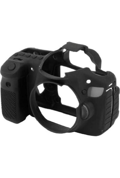 EasyCover Canon 60D Silikon Kılıf ECC60DB (Siyah)