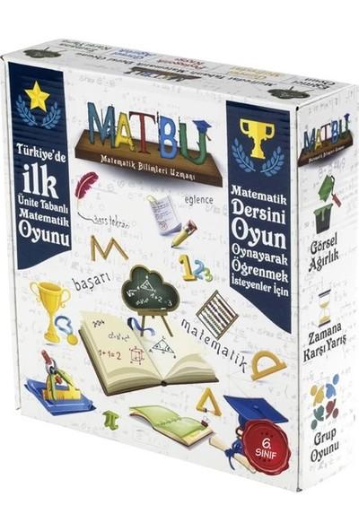 Matbu Kitap 6. Sınıf Matbu Mini Matematik Dersi Oyunu