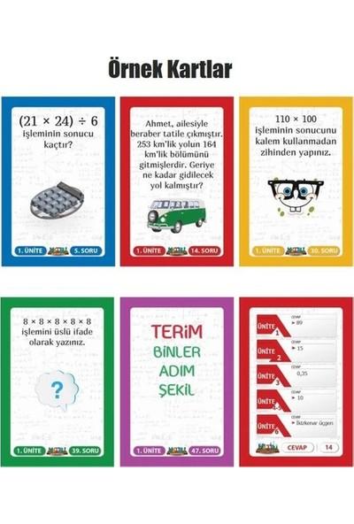 Matbu Kitap 5. Sınıf Matbu Mini Matematik Dersi Oyunu