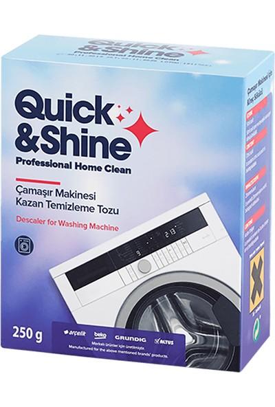 Quick&Shine Çamaşır Makinesi Kazan Temizleme Tozu 250 gr