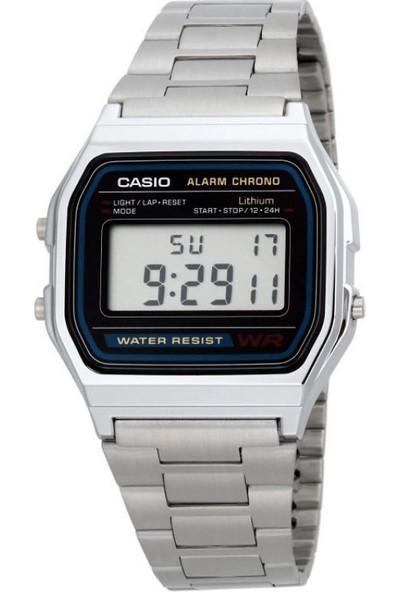 Casio A158WA-1DF Digital Erkek Kol Saati