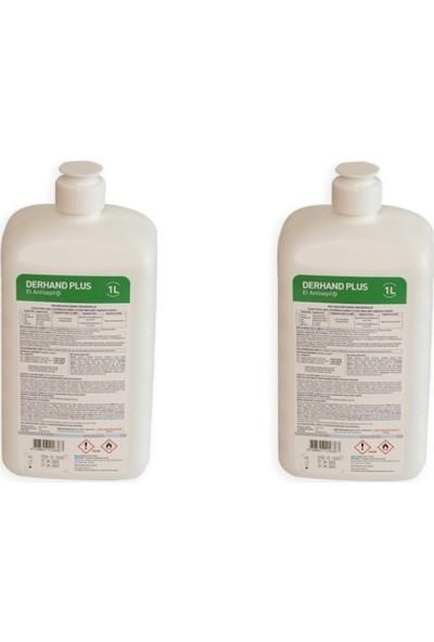 Ecolab Derhand Plus El Dezenfektanı 1 lt x 2 Adet