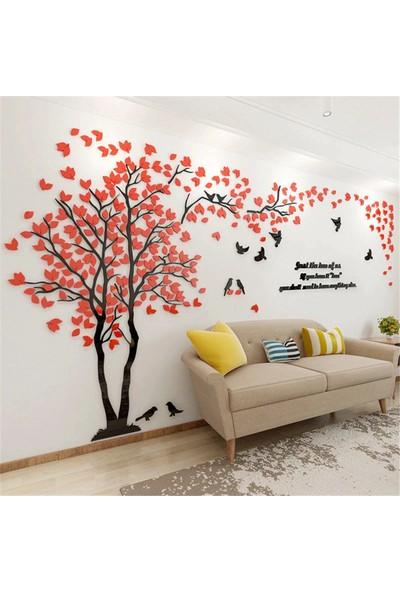 CUSTOM Pleksi Ağaç Tasarımlı Duvar DEKORASYONU190X280