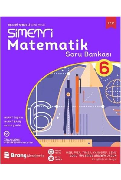 Branş Akademi 6. Sınıf Simetri Matematik Yeni Nesil Soru Bankası