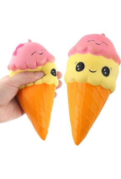 Squishy Dondurma Anahtarlık