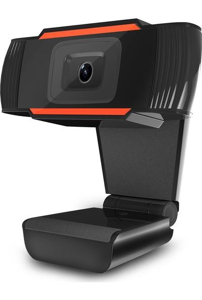 Hxsj A870 USB Webcam 480 P Sabit Odak Bilgisayar Kamera (Yurt Dışından)