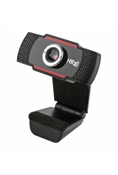 Hxsj S20 Yüksek Çözünürlüklü Webcam Manuel Odak Bilgisayar (Yurt Dışından)