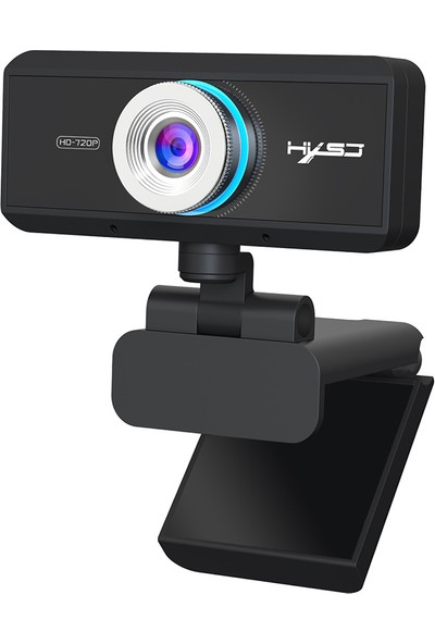 Hxsj S90 HD Webcam Mic Manuel Odaklı 720P Web (Yurt Dışından)