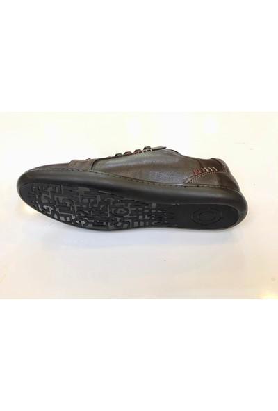 Goes 727 Erkek Günlük Yumuşak Deri Spor Ayakkabı