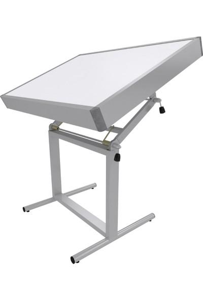 Panda 914 Prof.çizim Masası Ayaklı Ledli 80 x 120 cm