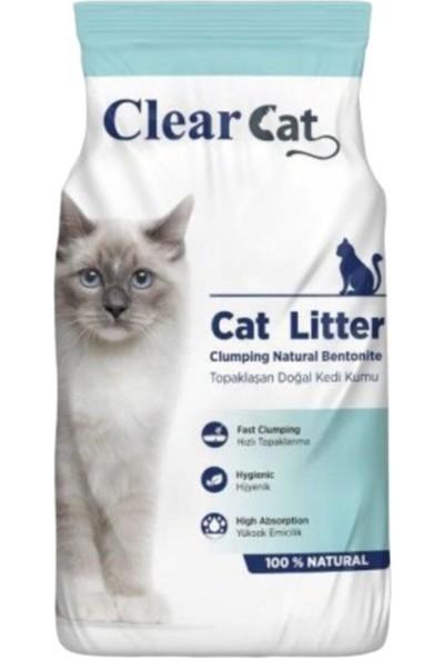 Clear Cat Natural Topaklanan Doğal Kedi Kumu 5 kg
