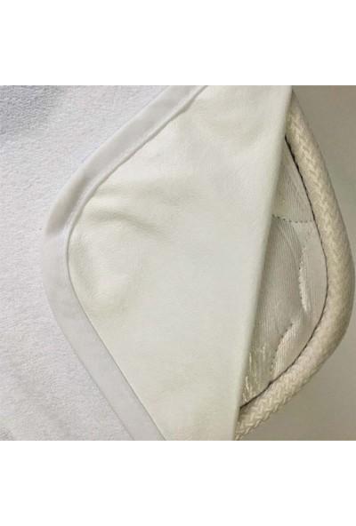 Yavuz Tekstil Çift Kişilik Lastikli Pamuklu Sıvı Geçirmez Yatak Koruyucu 160 x 200 cm