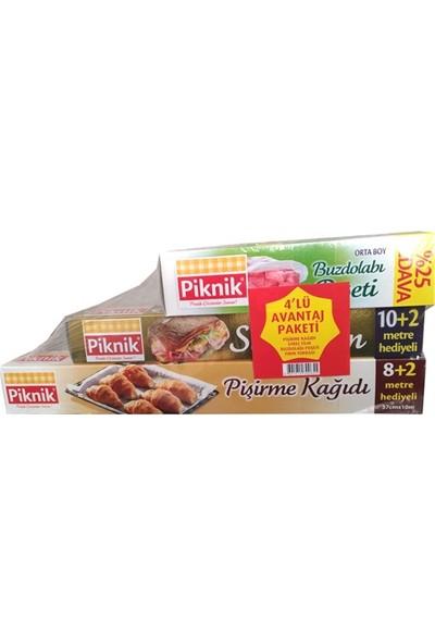 Piknik Avantajlı Paket 4 Lü
