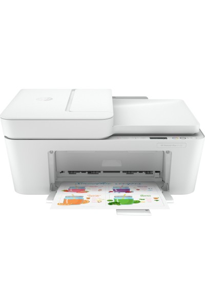 HP DeskJet Plus 4120 Fotokopi + Faks + Tarayıcı + Wi-Fi Renkli Yazıcı 3XV14B