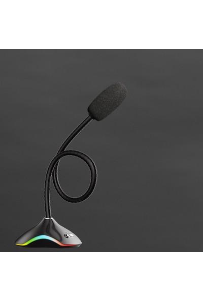 Rush Auderay RMC38 USB Rgb Gaming Mikrofon