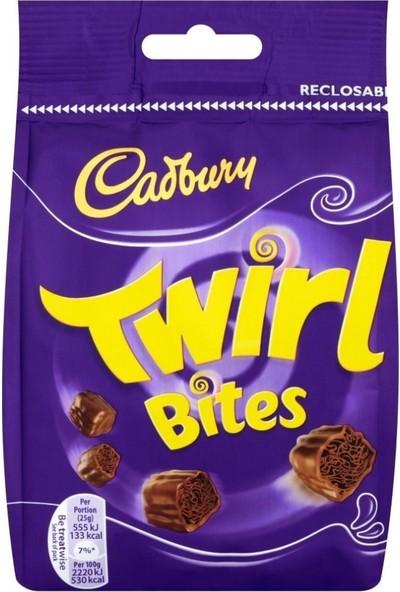 Cadbury Twirl Bites Chocolate Bag 109 gr