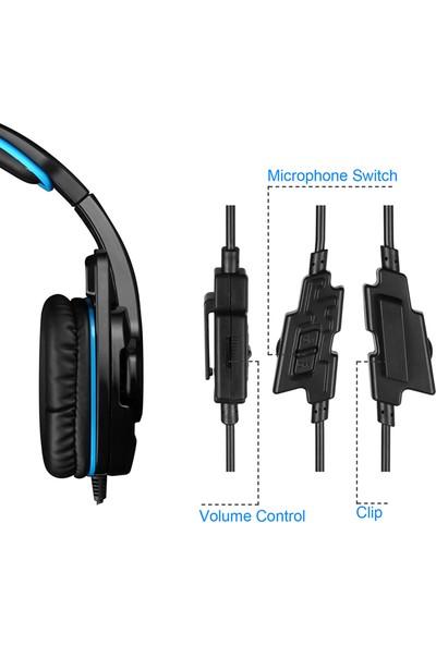 Sades SA-708GT 3.5 mm Oyun Kulaklığı W / Mikrofon Gürültü (Yurt Dışından)
